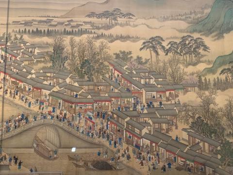 《康熙南巡图》(卷六)细节