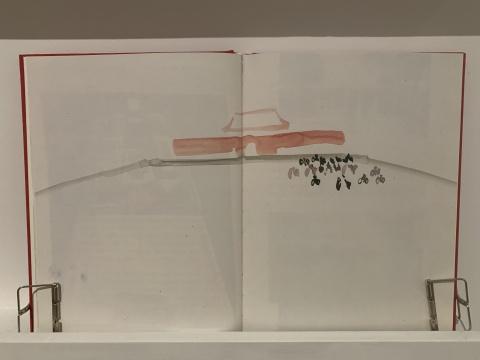 霍克尼曾于1980年代到访中国,中国绘画对他影响颇深