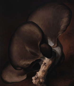 《蘑菇No.10》150×130cm 布上油画 2018
