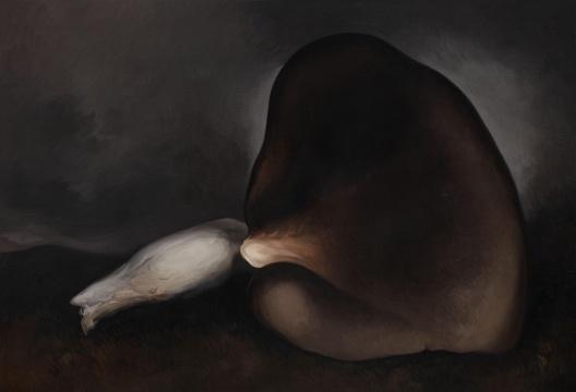 《蘑菇No,15》150×220cm 布上油画 2019