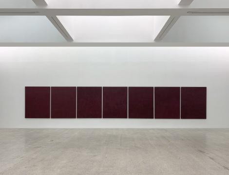 """""""红 系列"""" 172.5x131.5cm 布面油画 1989-1992"""