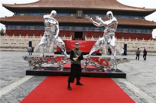 """北京太庙任哲""""炁""""个展现场"""