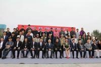 2019中国·衡水(国际)城市雕塑艺术节雕塑作品揭幕式在饶阳举行,于化云