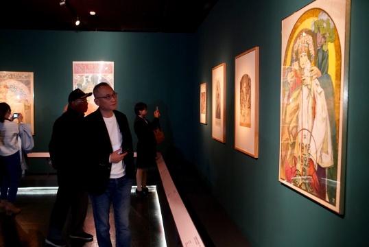 新艺术运动旗手、斯拉夫民族历史画巨匠穆夏特展亮相国家大剧院