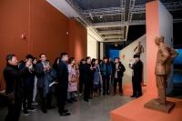 以形写神,风云塑——李象群雕塑艺术展在嘉德艺术中心开幕,张子康,李 象群,徐悲鸿