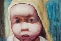"""赵能智的""""婴儿""""在不加掩饰的打量着世界"""