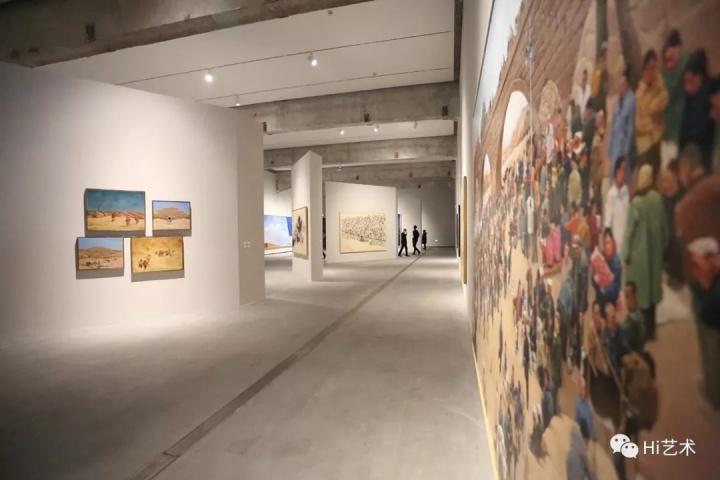 北京民生现代美术馆贺丹同名个展展览现场
