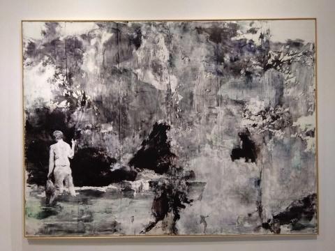 涂曦 《乐园》 340×250cm 布面油画 2020