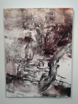 涂曦 《时光》200×150cm 布面油画 2020