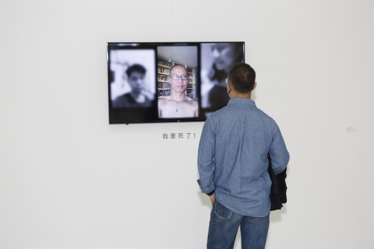 杨振中《我会死的》22'07'' 网络征集单屏录像 2016