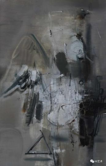 《大鸟16》100×150cm 布面油画2016