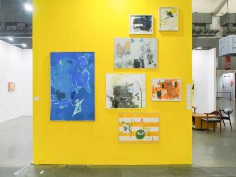 亚纪画廊台北当代艺术博览会展位(图片提供:亚纪画廊)