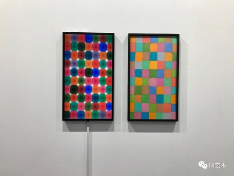 """2018年的香港巴塞尔艺术展会,杨画廊参展亚洲视野带来董大为的作品,绘画和绘画的""""纪实""""影像一同展出"""