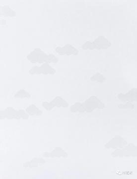 董大为作品《理论云》,在环境的衬托下可见,单独拍摄失真得犹如PS的蒙版效果