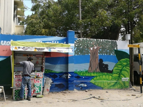 刘冰生活的地方,坦桑尼亚第一大城市达累斯萨拉姆街景