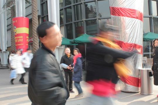 李燎《一记武汉》截帧  图片由艺术家提供
