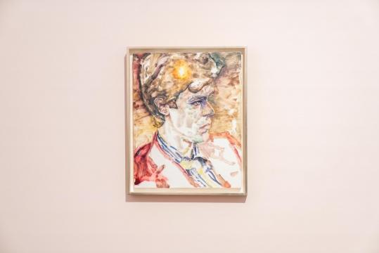 《大卫》 板上油彩 51.5 x 41.2 cm 2016