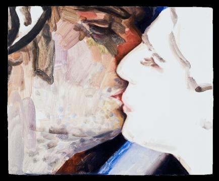 《我看到的美妙一幕……(罗恩格林,乔纳斯·考夫曼)》 木板油彩 22.9 x 27.9 cm 2011-2012