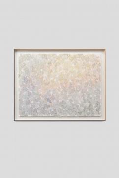 《落苔之七》58×77cm (绘画)65.5 × 84.5 cm (外框) 纸上水彩 2020