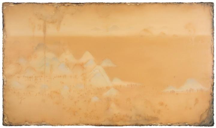 陈淑霞《浅绛》210×360cm布面油画2014