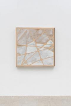 杨光南 《窗1》 2.6×115×115cm 树脂、油性颜料、木 2020