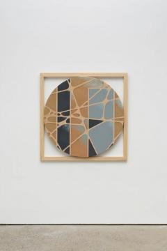 杨光南 《异形1》 5.5×120×120cm 树脂、油性颜料、木 2020