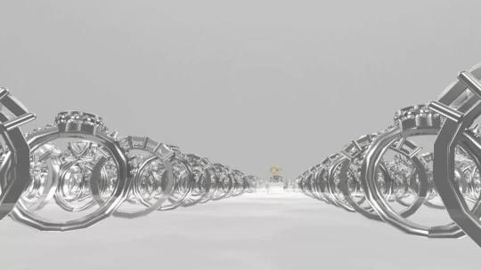 """王涛 《虚构的集会——""""首饰脱离肉身的视觉呈现,在虚拟现实语境下探讨首饰的边界""""》虚拟现实技术(VR)2018"""