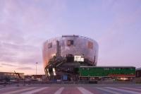 新落成的荷兰博物馆公共艺术仓库是一个巨型大碗,将于2021年向公众开放