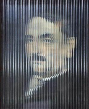 1895年,木板油画,40x50cm,2019,林林峰