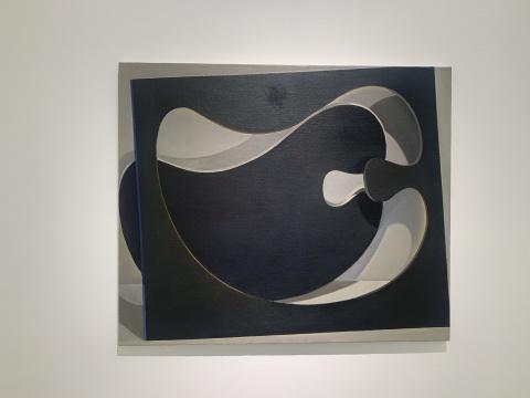 刘聪 《雕塑》 100×120cm 布面油画2018-19