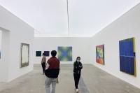 35位艺术家,中日韩抽象绘画巡回展亮相唐人北京
