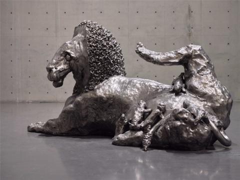 刘韡《。。。。》,龙美术馆(西岸馆)展览现场
