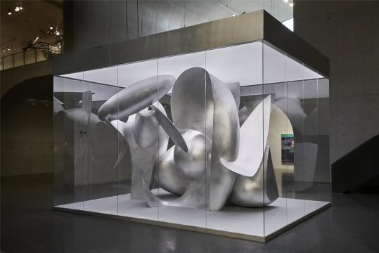 刘韡《微观世界 No.3》,龙美术馆(西岸馆)展览现场