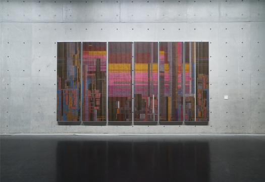刘韡《全景 2020 No. 2》,龙美术馆(西岸馆)展览现场