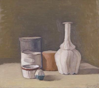 《静物》 41.4×46.1cm 布面油画 1950-1951