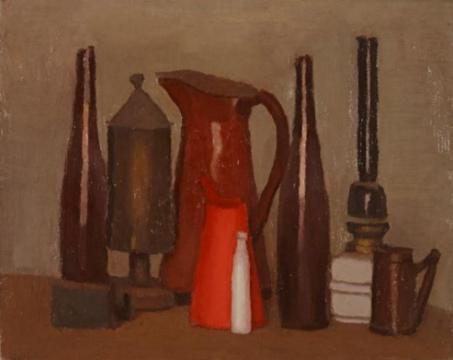《静物》 29.8×37.6cm 布面油画 1938