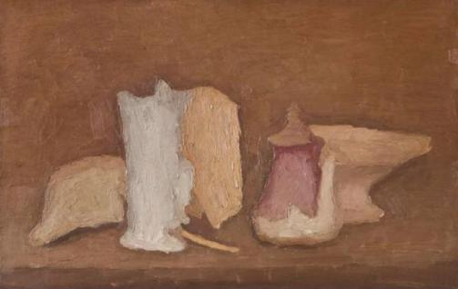《静物》 36×57cm 布面油画 1931