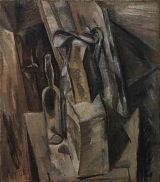 《静物》 73.8×65cm 布面油画 1914