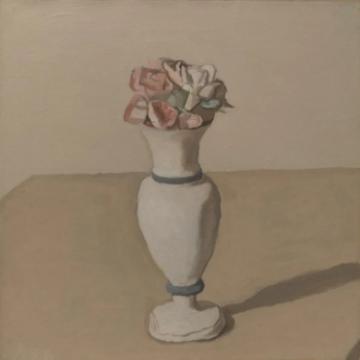 《花卉》 45.8×46cm 布面油画 1952