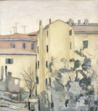 《风景(格里扎纳的房子)》 26.1×20cm 蚀刻版画 1927
