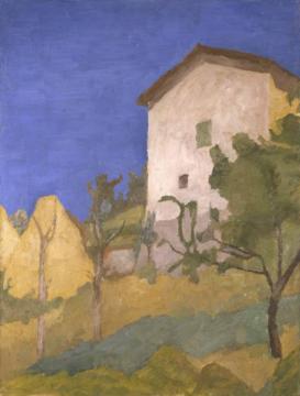 《风景》 61.7×46.8cm布面油画 1928