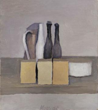 《静物》 40.7×36.2cm 布面油画 1956