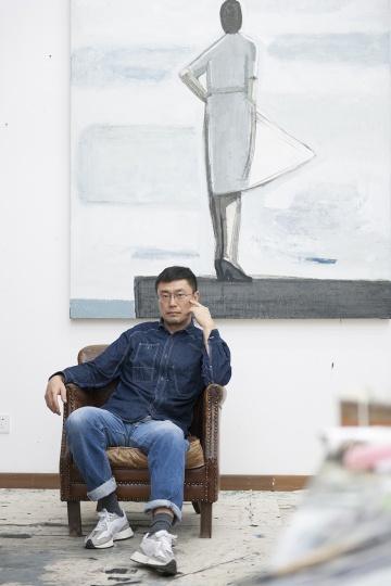 艺术家 刘晓辉 (摄影:董林)
