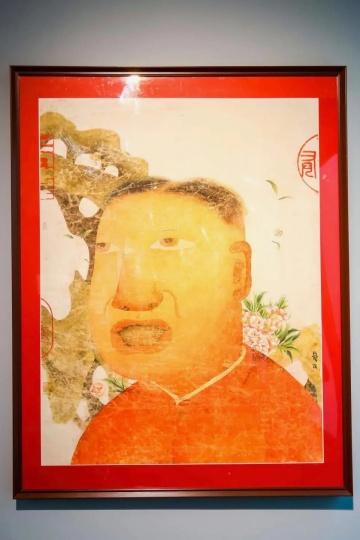 朱伟《开春图十二号》 160×120cm 水墨设色纸本 2008