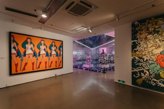 今日美术馆吹来一股强劲的新新艺术风潮