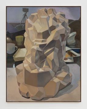 《建筑(摩西)》264×204cm 布面油画 2020