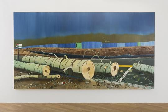 《仁礼路》220×400cm 布面油画 2019