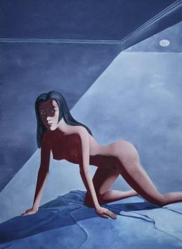 《旅馆》 300×220cm 布面油画2007