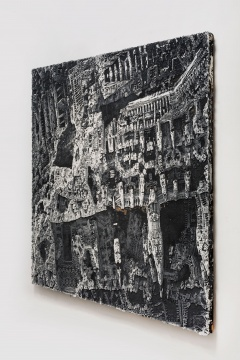 SPURS Gallery2021年首展,欧劲笔下的迷幻和震颤