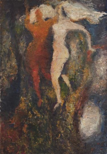 《秋日的舞蹈》 88×63cm 布面油画 1982